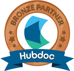 Hubdoc Bronze Partner Badge